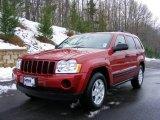 2006 Inferno Red Crystal Pearl Jeep Grand Cherokee Laredo 4x4 #22990144