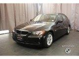 2008 Jet Black BMW 3 Series 328xi Sedan #23073712