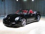 2008 Black Porsche 911 Turbo Cabriolet #23096112
