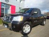 2007 Galaxy Black Nissan Titan SE King Cab 4x4 #23087156
