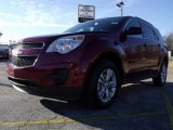 2010 Cardinal Red Metallic Chevrolet Equinox LT #23086428