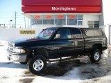 2000 Black Dodge Ram 2500 SLT Extended Cab 4x4 #23077687