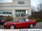 2010 Sangria Red Metallic Ford Fusion SE V6 #23075500