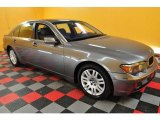 2003 Titanium Grey Metallic BMW 7 Series 745Li Sedan #23089030