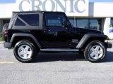 2010 Black Jeep Wrangler Sport 4x4 #23084431