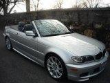2005 Titanium Silver Metallic BMW 3 Series 330i Convertible #2308088