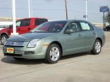 2009 Moss Green Metallic Ford Fusion SE V6 #2307605