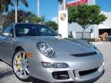 2007 Arctic Silver Metallic Porsche 911 GT3 #2306135