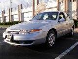 2001 Bright Silver Saturn L Series L200 Sedan #23184283
