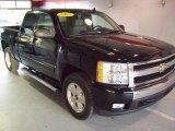 2007 Black Chevrolet Silverado 1500 LT Extended Cab 4x4 #23165720