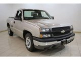 2004 Silver Birch Metallic Chevrolet Silverado 1500 Regular Cab #23188711