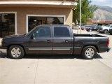 2004 Dark Gray Metallic Chevrolet Silverado 1500 LT Crew Cab #23164466