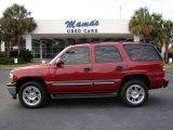 2005 Sport Red Metallic Chevrolet Tahoe LS #23181549