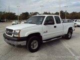 2003 Summit White Chevrolet Silverado 2500HD LS Extended Cab 4x4 #23190464