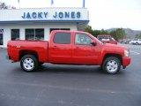 2008 Victory Red Chevrolet Silverado 1500 LTZ Crew Cab 4x4 #23184709
