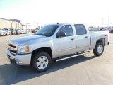 2010 Sheer Silver Metallic Chevrolet Silverado 1500 LT Crew Cab 4x4 #23190348