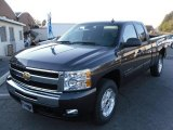 2010 Taupe Gray Metallic Chevrolet Silverado 1500 LT Extended Cab #23190351