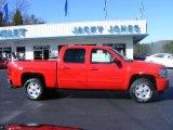 2010 Victory Red Chevrolet Silverado 1500 LTZ Crew Cab 4x4 #23184676