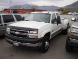 2006 Summit White Chevrolet Silverado 3500 LT Crew Cab 4x4 Dually #23164458