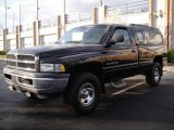2001 Black Dodge Ram 1500 ST Regular Cab 4x4 #23184281