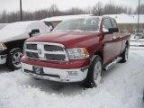 2010 Inferno Red Crystal Pearl Dodge Ram 1500 Big Horn Quad Cab 4x4 #23187308