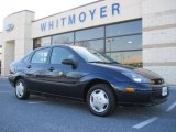 2003 Twilight Blue Metallic Ford Focus LX Sedan #23185966
