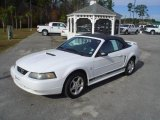 2002 Oxford White Ford Mustang V6 Convertible #23186577