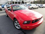 2007 Torch Red Ford Mustang V6 Premium Convertible #23181193