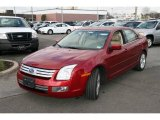 2008 Redfire Metallic Ford Fusion SEL V6 AWD #23168089