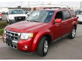 2009 Sangria Red Metallic Ford Escape Limited V6 4WD #23168087