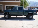 1995 Forest Green Metallic GMC Sierra 1500 SLE Extended Cab 4x4 #23164470