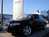 2008 Brilliant Black Audi A4 2.0T quattro Sedan #23178785