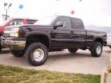 2003 Black Chevrolet Silverado 1500 LS Extended Cab 4x4 #23164460