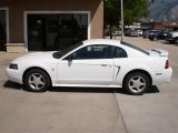 2002 Oxford White Ford Mustang V6 Coupe #23164442
