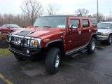2003 Red Metallic Hummer H2 SUV #23171727