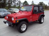 2006 Flame Red Jeep Wrangler X 4x4 #23190494