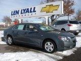 2008 Dark Gray Metallic Chevrolet Malibu LS Sedan #23175683