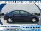 2007 Royal Blue Pearl Honda Civic LX Sedan #23164837