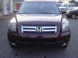 2007 Dark Cherry Pearl Honda Pilot EX-L 4WD #23186465
