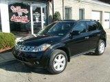 2004 Super Black Nissan Murano SE AWD #23182352
