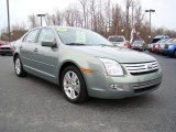 2009 Moss Green Metallic Ford Fusion SEL V6 #23177686