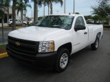 2009 Summit White Chevrolet Silverado 1500 Regular Cab #23257147