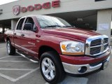 2006 Inferno Red Crystal Pearl Dodge Ram 1500 SLT Quad Cab 4x4 #23268856