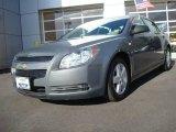 2008 Dark Gray Metallic Chevrolet Malibu LS Sedan #23256826