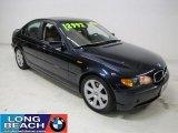 2003 Orient Blue Metallic BMW 3 Series 325i Sedan #23341096