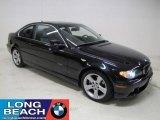 2006 Monaco Blue Metallic BMW 3 Series 325i Coupe #23341081