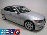 2007 Titanium Silver Metallic BMW 3 Series 335i Sedan #23341066