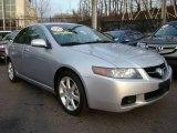 2005 Satin Silver Metallic Acura TSX Sedan #23384028