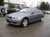 2010 Space Gray Metallic BMW 3 Series 328i xDrive Coupe #23386058