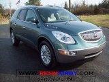 2010 Silver Green Metallic Buick Enclave CXL #23391788